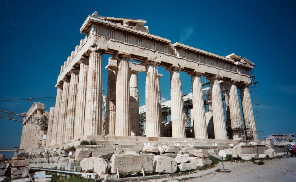 The most famous ruins in Athens are found at the Acropolis, most notably the Parthenon.