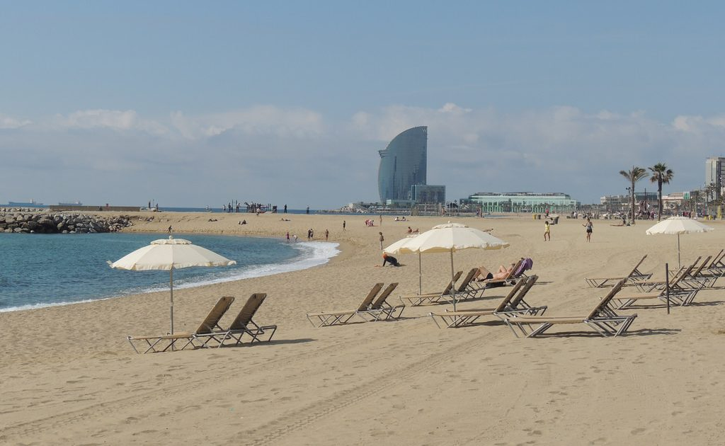 The beaches in Barcelona are the place to be in the summer!