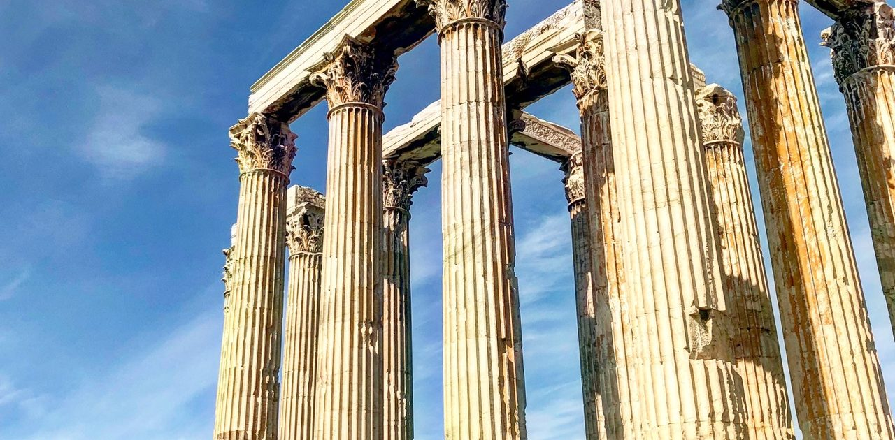 Some of the best ruins in Athens can be found at the Ancient Agora.