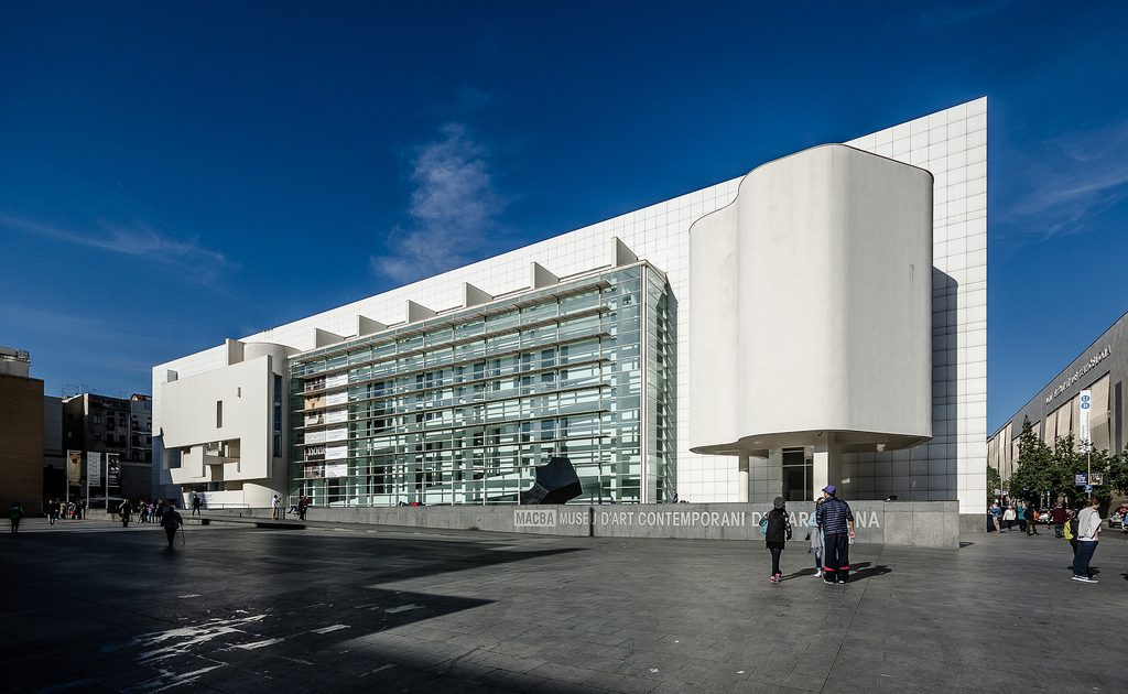 MACBA is one of the most visited museums in Barcelona
