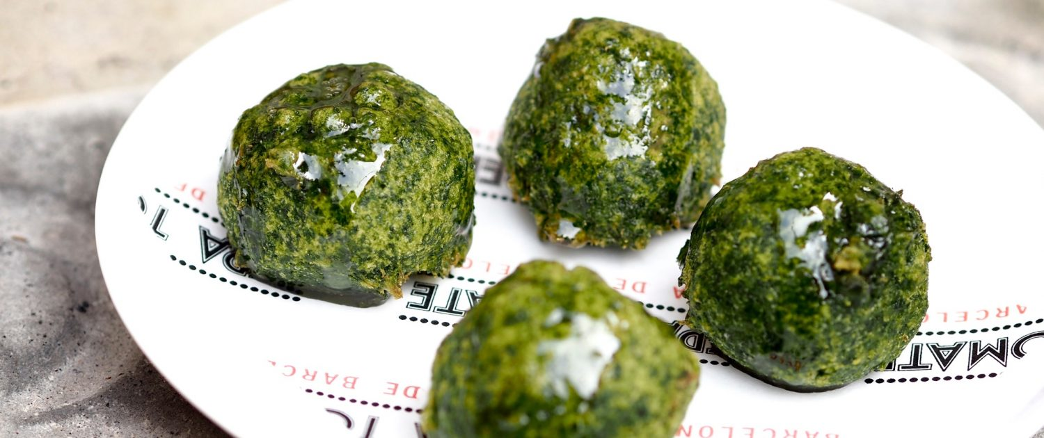 These spinach fritters are a sampling of the best tapas in Barcelona