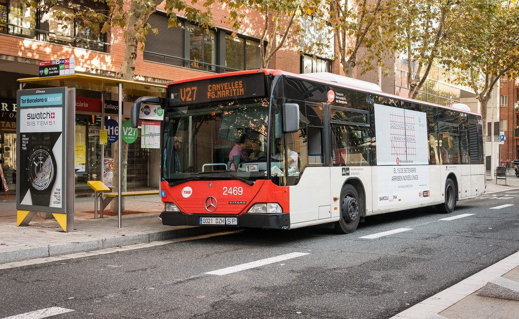The bus is one of the best options when using public transportation in Barcelona