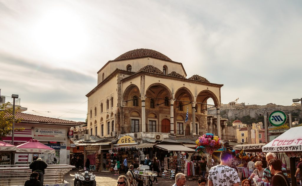 Visit Monastiraki during for 48 hours in Athens!