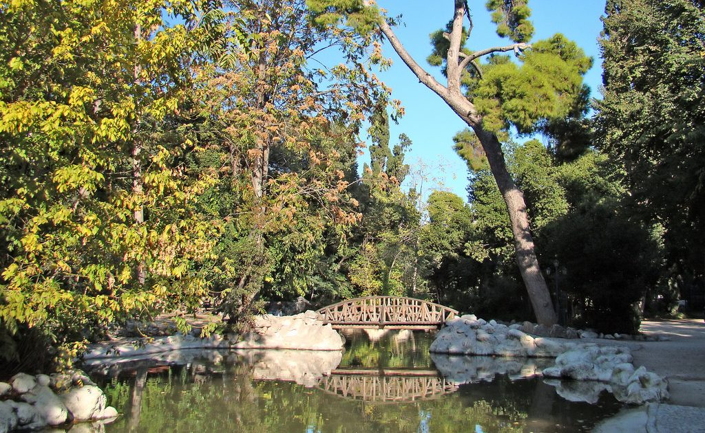 Stroll through the National Gardens during your 48 hours in Athens