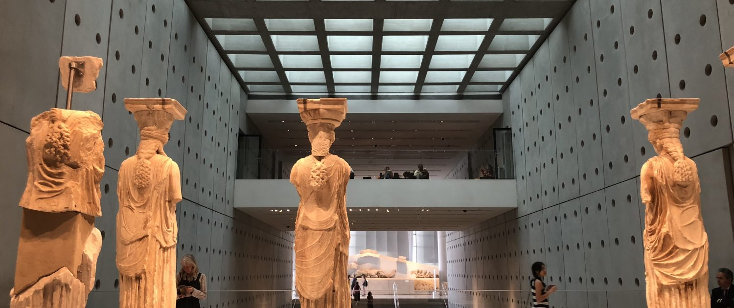 One of the most impressive exhibitions in Acropolis Museum