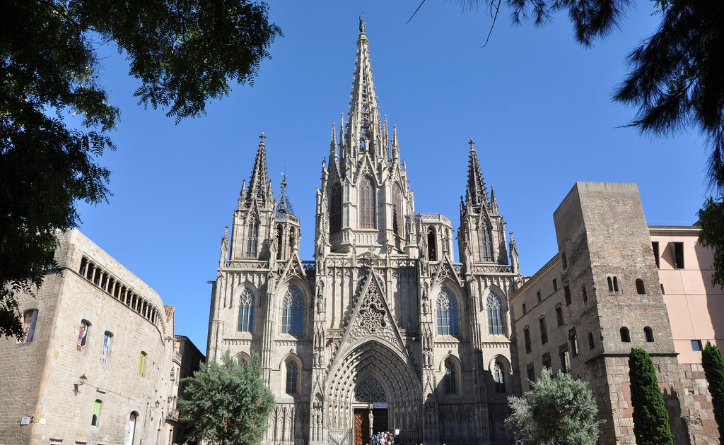 The Cathedral is the heart of Barcelona's Gothic Quarter