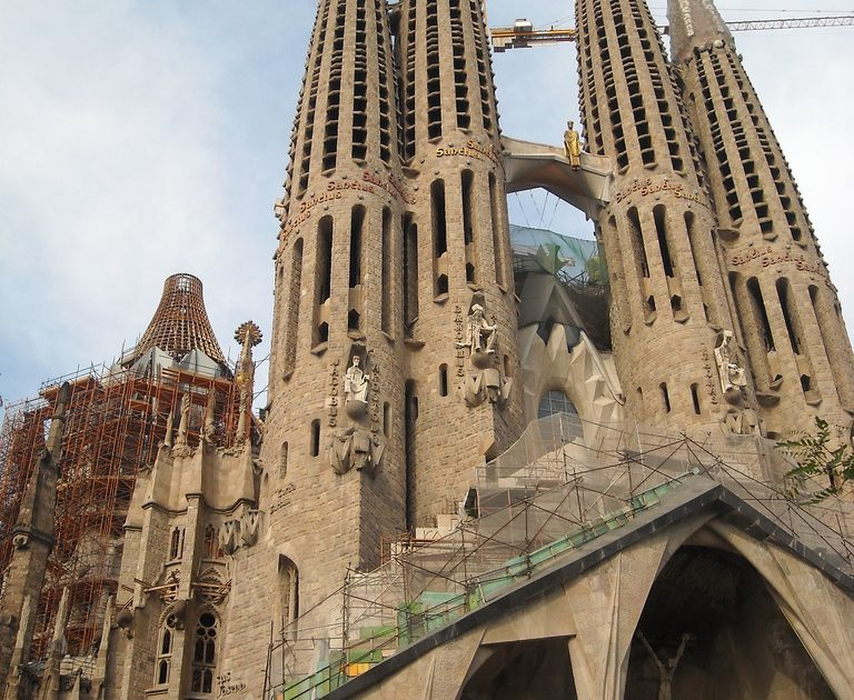 Visiting Barcelona wouldn't be complete without seeing the Sagrada Familia!