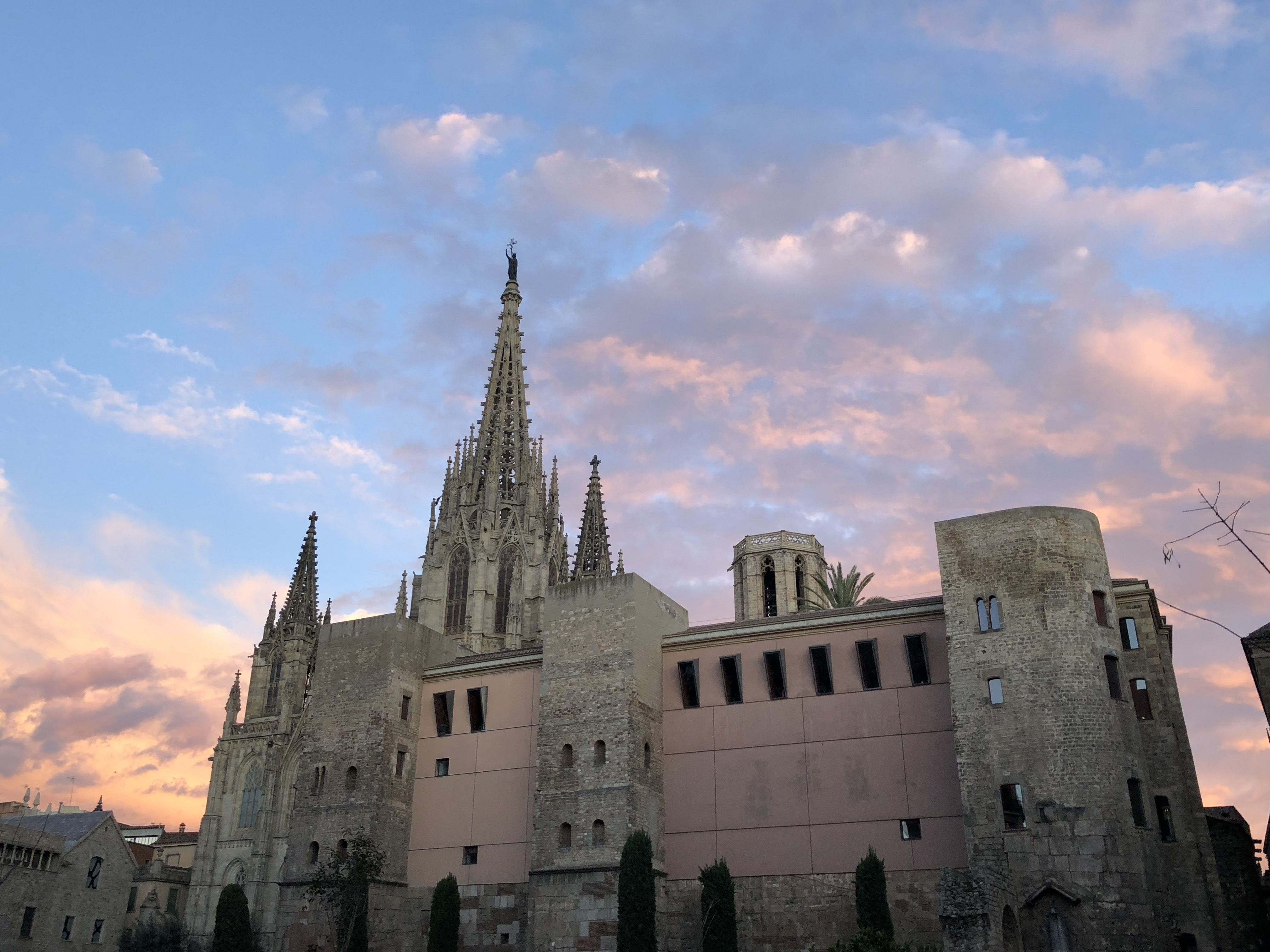 Barcelona Cathedral is one of the highlights during your weekend in Barcelona