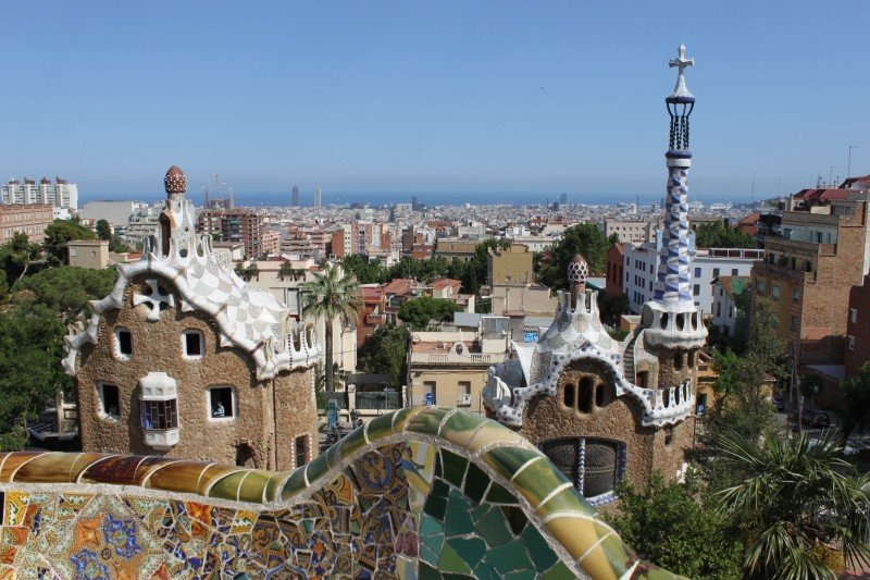 Parc Guell is one of the highlights of visiting Barcelona!