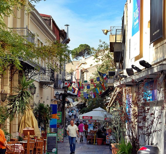 Get lost in the little streets of the Plaka neighborhood