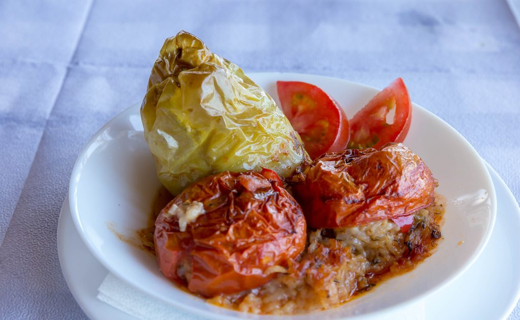 Greek food is one of the many attractions of the Plaka neighborhood!