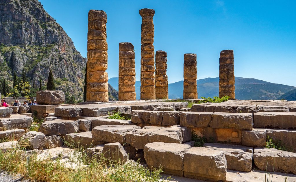 Delphi is one of the top day trips from Athens to take!