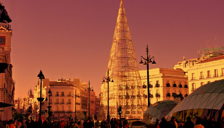 Spend the holidays in Madrid to get in the spirit!