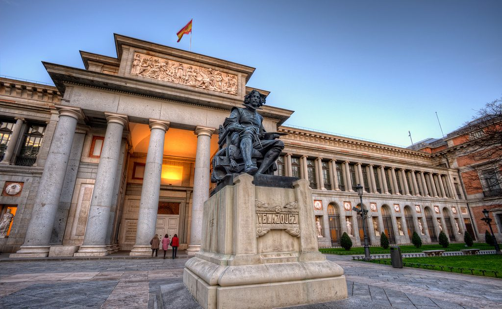 The Museo del Prado is at the top of the best museums in Madrid