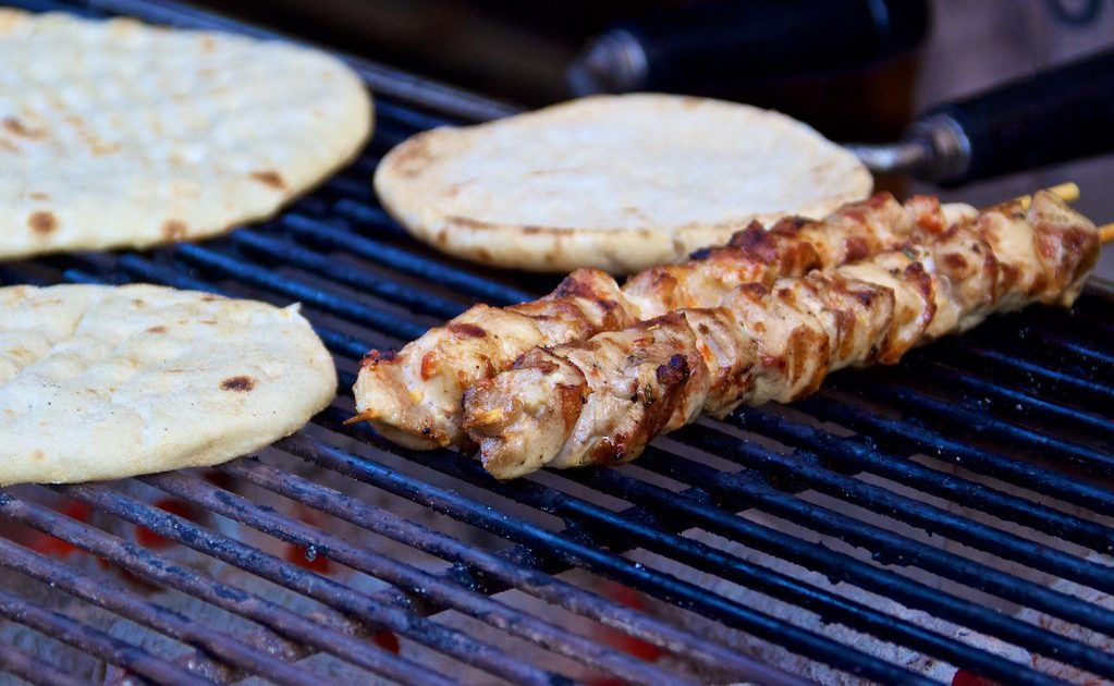 Souvlaki are must eats in Athens because of their convenience and tasty flavor!