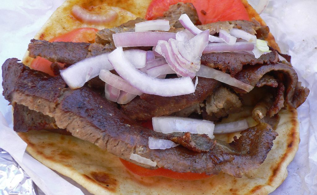 Gyros are definite must eats in Athens, as they are simple yet delicious!