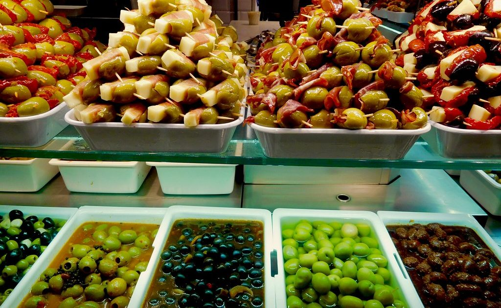 The Mercado de San Miguel in Madrid is the best-known food market in town.