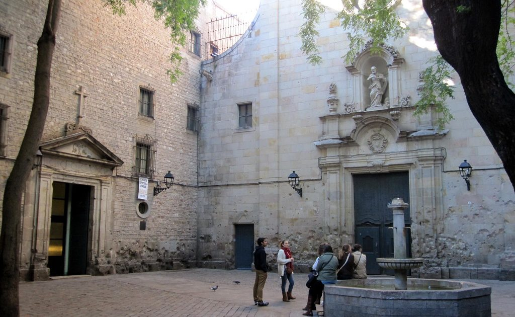 Sant Felip Neri is one of the most important churches in Barcelona