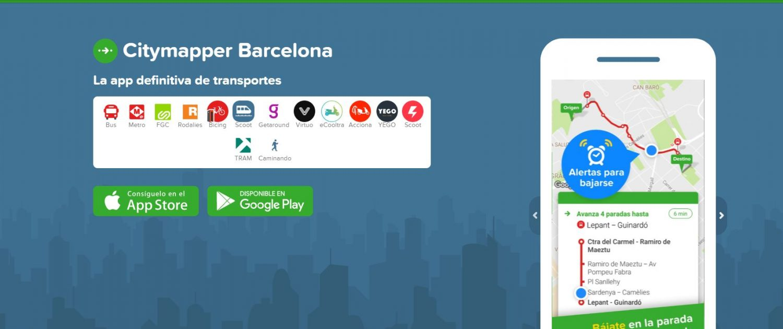 City Mapper Barcelona