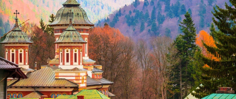 Sinaia in the Carpathians